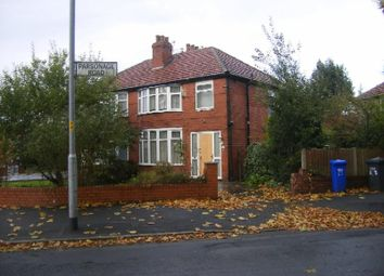 Thumbnail 3 bed semi-detached house to rent in Parsonage Road, Withington, Manchester