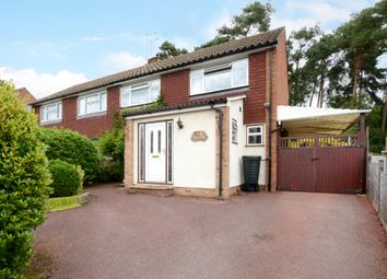 Thumbnail 3 bed semi-detached house to rent in Evergreen Road, Frimley, Camberley
