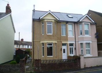 Thumbnail 3 bed semi-detached house to rent in St. Johns Crescent, Rogerstone, Newport