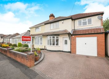 Thumbnail 4 bedroom semi-detached house for sale in Uplands Road, Willenhall