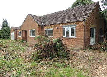 Thumbnail 6 bed detached bungalow for sale in Leverington Common, Leverington, Wisbech