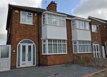 Thumbnail 3 bed semi-detached house for sale in Homeway Road, Leicester