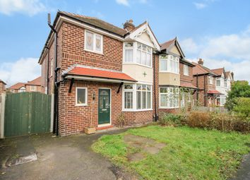 Thumbnail 3 bed semi-detached house for sale in Lindi Avenue, Grappenhall, Warrington