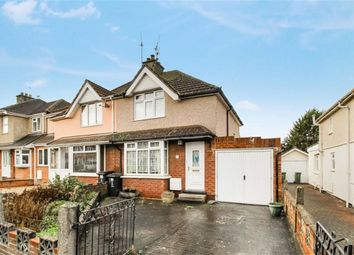 Thumbnail 2 bed semi-detached house for sale in Bibury Road, Old Walcot, Swindon