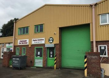 Thumbnail Light industrial to let in Unit 22 Davey Close, Colchester, Essex