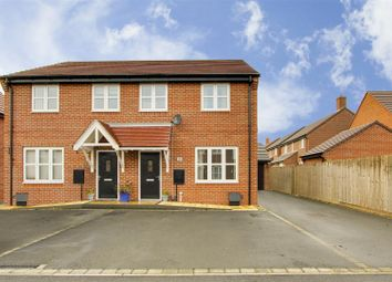 Thumbnail 3 bed semi-detached house for sale in Instow Close, Mapperley, Nottinghamshire