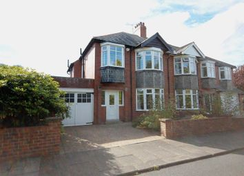 Thumbnail 3 bed semi-detached house for sale in The Crescent, Loansdean, Morpeth