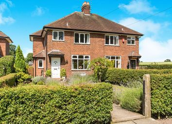 Thumbnail 3 bed semi-detached house for sale in Mill Lane, Holmes Chapel, Crewe