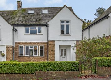 Thumbnail 4 bed semi-detached house for sale in Lea Road, Harpenden