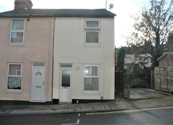 Thumbnail 2 bed end terrace house to rent in Suffolk Road, Ipswich