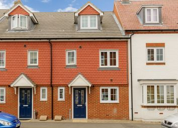 Thumbnail 3 bed town house to rent in Poppy Mead, Kingsnorth, Ashford