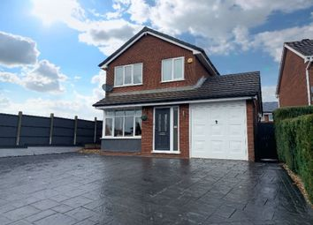 Thumbnail 4 bed detached house for sale in Bond Way, Hednesford, Cannock