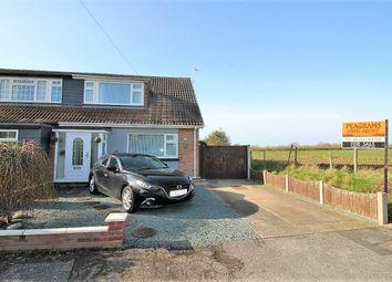 Thumbnail 3 bed semi-detached house for sale in Clapgate Drive, Little Clacton, Clacton On Sea