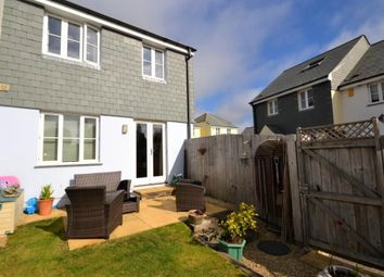 Thumbnail 3 bed semi-detached house for sale in The Orchard, Barbican Hill, Looe, Cornwall