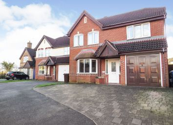 Thumbnail 4 bed detached house for sale in Earlswood Drive, Mickleover, Derby