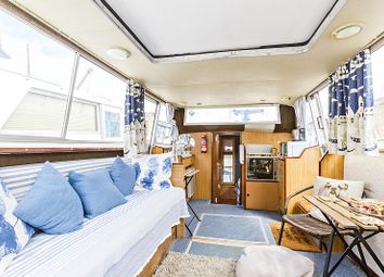 Thumbnail 2 bed houseboat for sale in South Dock Marina, Rotherhithe