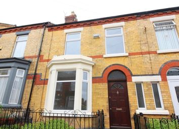 Thumbnail 3 bed terraced house for sale in Burdett Street, Aigburth, Liverpool