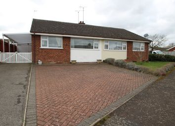 Thumbnail 2 bedroom semi-detached bungalow for sale in Lacon Road, Bramford, Ipswich
