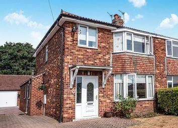 Thumbnail 3 bed semi-detached house for sale in Collinsons Lane, Rillington, Malton