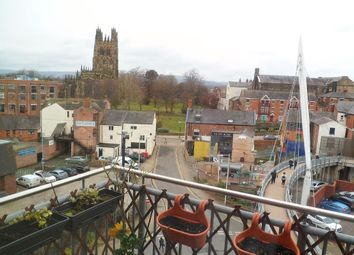 Thumbnail 2 bed flat for sale in Eagles Court, Wrexham