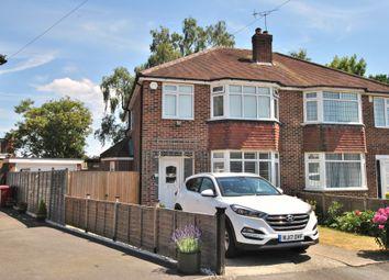 Thumbnail 3 bed semi-detached house for sale in Boundary Close, Tilehurst, Reading