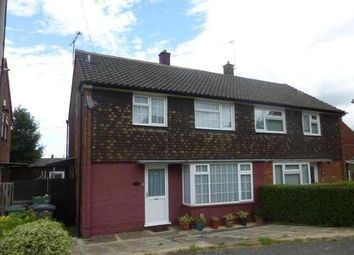 Thumbnail 3 bedroom semi-detached house for sale in Ickley Close, Luton
