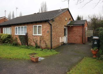 Thumbnail 1 bedroom semi-detached bungalow for sale in Fordwell Close, Chapelfields, Coventry