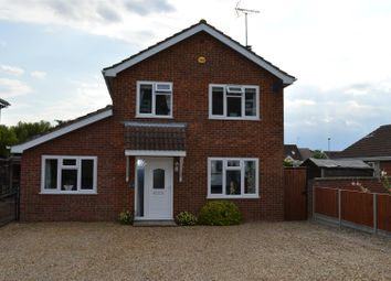 Thumbnail 3 bed detached house for sale in Marsh Road, Terrington St. Clement, King's Lynn