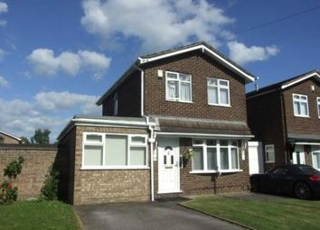 Thumbnail 4 bed link-detached house for sale in Gainsborough Drive, Bedworth, Warwickshire
