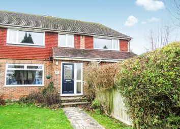 Thumbnail 4 bedroom semi-detached house for sale in Fairway, Copthorne, Crawley