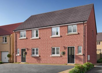 "Thumbnail 3 bed semi-detached house for sale in ""The Eveleigh"" at Showground Road, Malton"