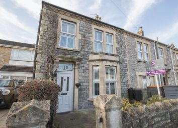 Thumbnail 3 bed end terrace house for sale in Chandag Road, Keynsham, Bristol