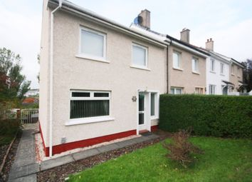 Thumbnail 2 bed end terrace house for sale in Lochinver Crescent, Paisley