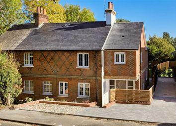 Thumbnail 3 bed semi-detached house for sale in Shortheath Road, Farnham, Surrey