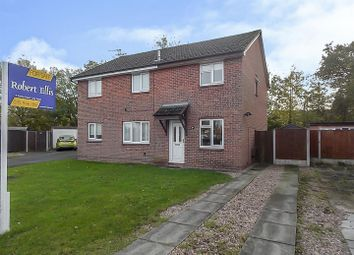 Thumbnail 2 bed semi-detached house for sale in Kingsdale Close, Long Eaton, Nottingham