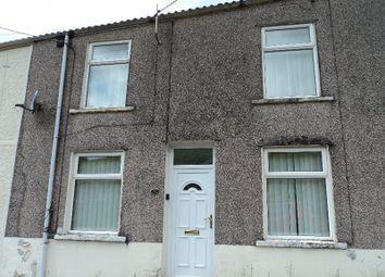 Thumbnail 2 bed end terrace house to rent in Llewellyn Street, Nantymoel, Bridgend.