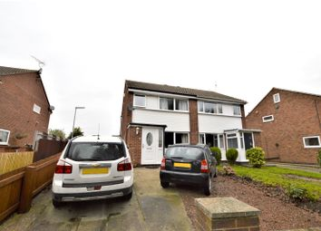 Thumbnail 3 bed semi-detached house for sale in Pickering Avenue, Garforth, Leeds