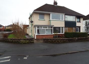 Thumbnail 3 bed semi-detached house for sale in Beechwood Avenue, Fulwood, Preston, Lancashire