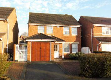 Thumbnail 3 bed detached house for sale in Kensington Road, Coalville