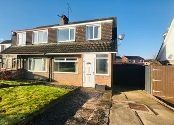 Thumbnail 3 bed semi-detached house for sale in Rushton Drive, Glen Parva, Leicester