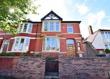 Thumbnail 4 bed semi-detached house for sale in Seabank Road, Wallasey, Merseyside