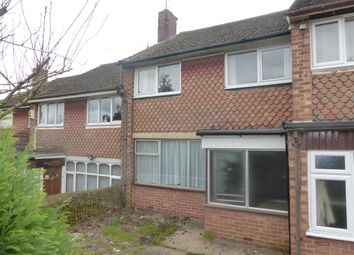Thumbnail 3 bed terraced house for sale in Chalcombe Road, Kingsthorpe, Northampton