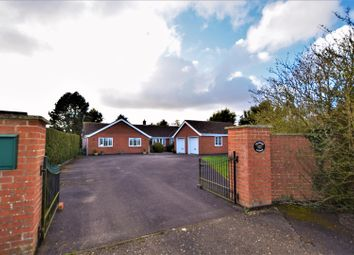 Thumbnail 4 bed detached bungalow for sale in Fenside Road, Toynton All Saints, Spilsby