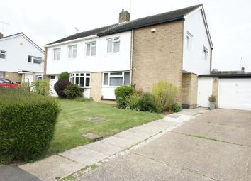 Thumbnail 3 bed semi-detached house for sale in Sparrows Herne, Basildon