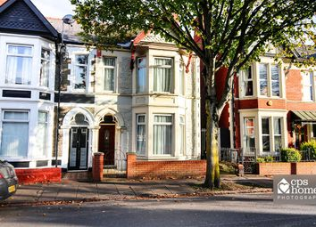 Thumbnail 3 bed end terrace house for sale in Courtenay Road, Splott, Cardiff