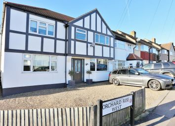 Thumbnail 5 bedroom end terrace house for sale in Orchard Rise West, Sidcup