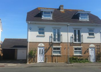 Thumbnail 4 bed town house for sale in Celandine Close, Weymouth