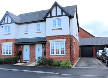 Thumbnail 3 bedroom semi-detached house for sale in Hutton Road, Kineton