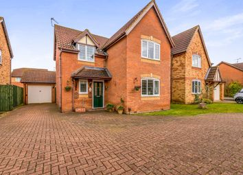 Thumbnail 4 bed detached house for sale in Edison Drive, Upton, Northampton