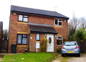 Thumbnail 2 bedroom semi-detached house for sale in Piccadilly Close, Roselands, Northampton